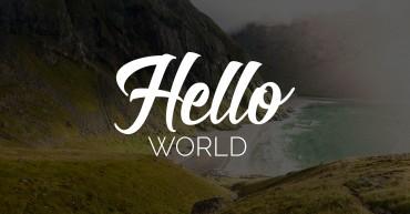 A origem do Hello World