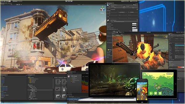Games multiplayer com Unity 5 - Super bônus com módulo de desenvolvimento mobile para App Store e Google Play